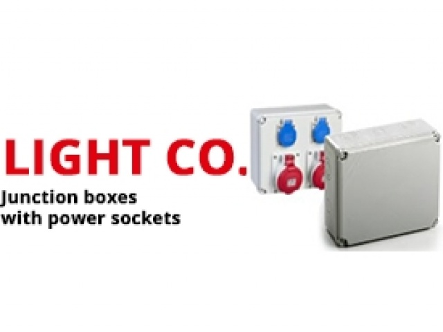 Junction Boxes with Power Sockets