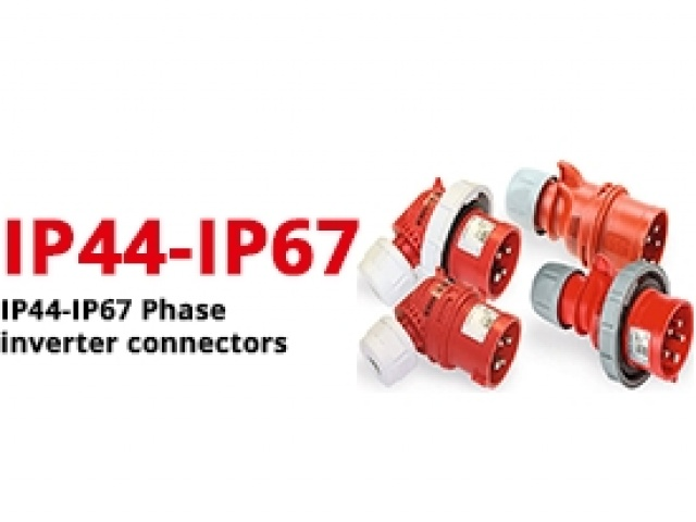 IP44-IP67 Phase inverter connectors