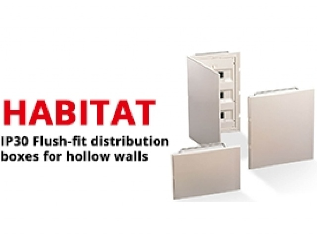 IP30 Flush-Fit Distribution Boxes for Hollow Walls