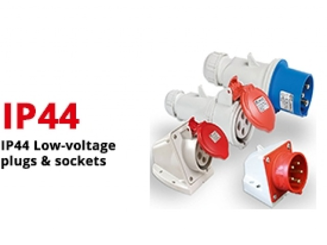 IP44 Low-voltage plugs & sockets