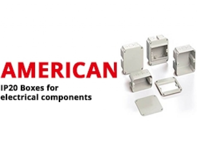 IP20 Boxes for Electrical Components