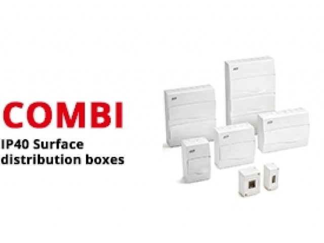 IP40 Surface Distribution Boxes