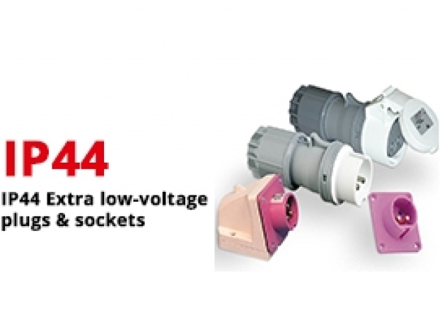 IP44 Extra Low-Voltage Plugs & Sockets