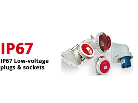 IP67 Low-Voltage Plugs & Sockets